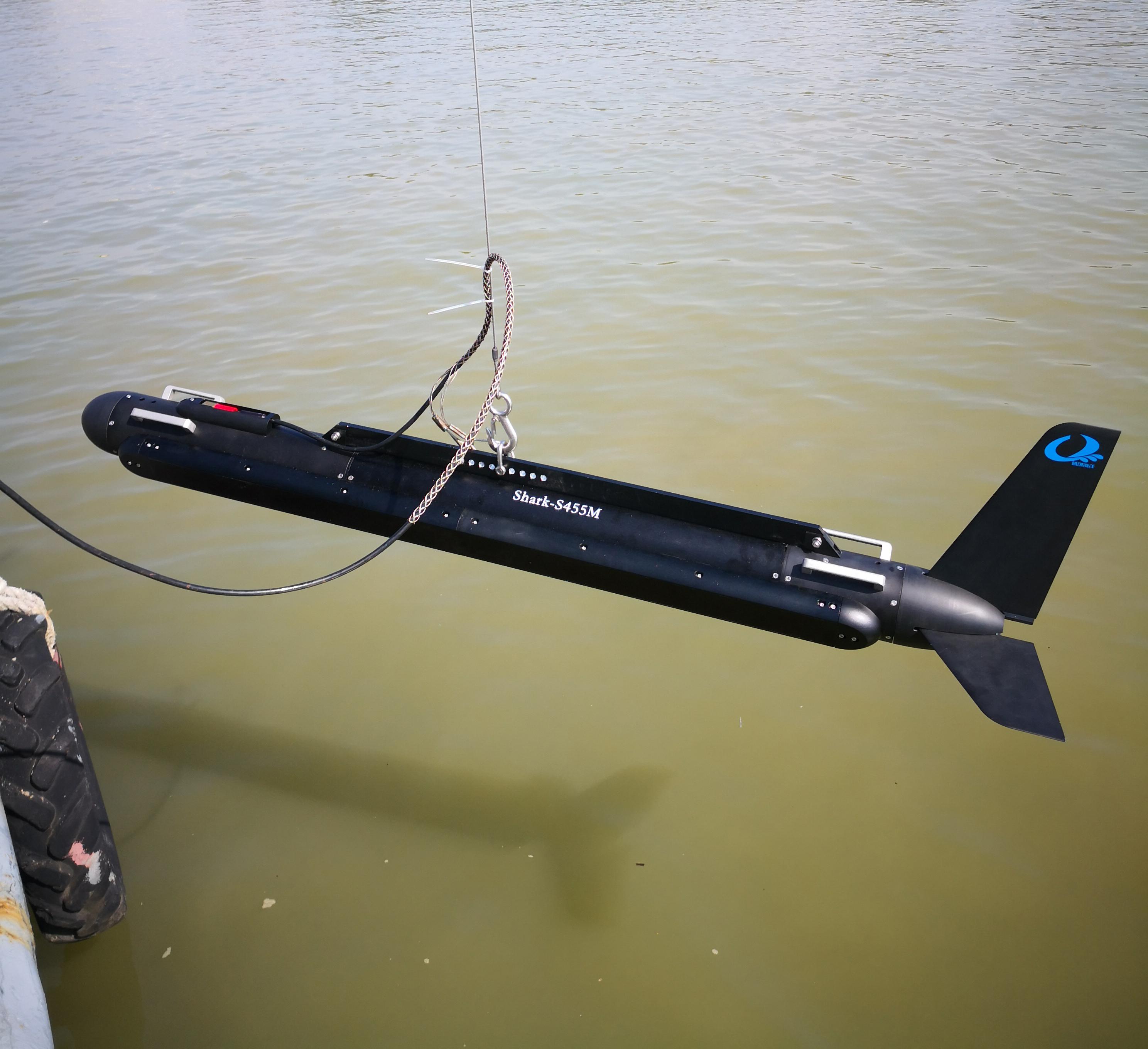 Shark-S455M Multi-beam Side Scan Sonar -Sidescan|Multibeam
